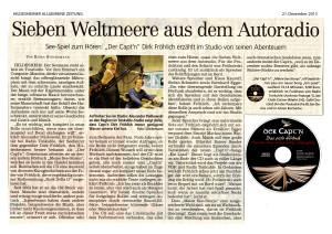 HAZ Presseartikel Hörbuch 21.12.2013